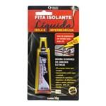 Ficha técnica e caractérísticas do produto Fita Isolante Liquida Preta Bisnaga 16G Quimatic