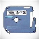 Ficha técnica e caractérísticas do produto Fita P/ Rotulador Pt Brother M231 - Largura: 12Mm, Comprimento: 8Mm, Preto/Branco
