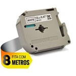 Ficha técnica e caractérísticas do produto Fita para Rotulador 12mmx8mt Branca M231 Brother CX 1 UN