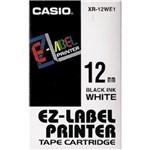 Ficha técnica e caractérísticas do produto Fita para Rotulador Casio XR-12WE1 12mm Preto no Branco