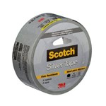 Ficha técnica e caractérísticas do produto Fita Silver Tape 45mmX25m 3M Scotch
