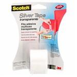 Ficha técnica e caractérísticas do produto Fita Silver Tape 38mmx4m,57cm Transparente Hb004102750 3m Blister