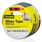 Ficha técnica e caractérísticas do produto Fita Silver Tape Scotch 45mmx5m 3m