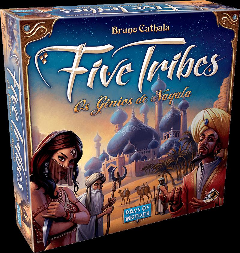 Ficha técnica e caractérísticas do produto Five Tribes (325,4)