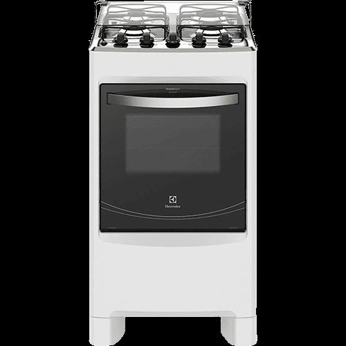 Fogão de Piso Electrolux 4 Bocas 50SBC Branco - Bivolt