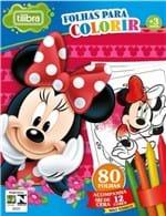 Ficha técnica e caractérísticas do produto Folhas para Colorir Mini com Giz de Cera Minnie Tilibra