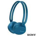 Ficha técnica e caractérísticas do produto Fone Bluetooth Sony WH-CH400/L - Azul - SONY
