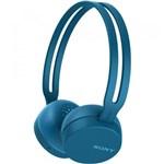 Ficha técnica e caractérísticas do produto Fone Bluetooth Sony Wh-ch400/l Azul