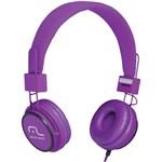 Ficha técnica e caractérísticas do produto Fone de Ouvido Headphone Ph090 Fun Roxo Multilaser