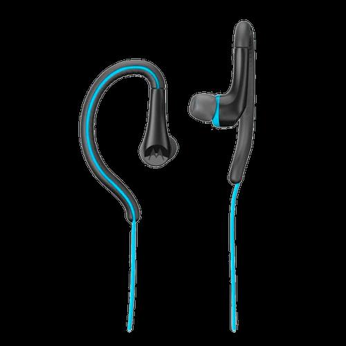 Fone de Ouvido Motorola Earbuds Sport, Intra-auricular com Microfone - Azul