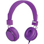 Fone de Ouvido Multilaser Fun PH90 Supra Auricular Roxo com Microfone para Celular