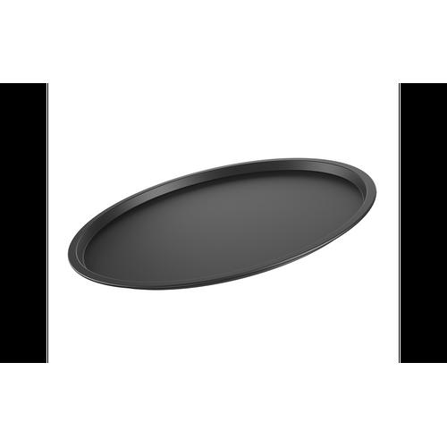 Ficha técnica e caractérísticas do produto Forma para Pizza Sem Furos Ø33 Cm Ø 33 X 1 Cm Grafite Brinox