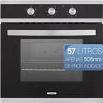 Forno Eletrico de Embutir Tramontina Glass Brasil B 60 F3 220v