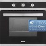 Ficha técnica e caractérísticas do produto Forno Eletrico de Embutir Tramontina Glass Brasil B 60 F3 220v