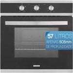 Ficha técnica e caractérísticas do produto Forno Elétrico de Embutir Tramontina Glass Brasil B60 F3 3 Funções 94865-220 - 220V