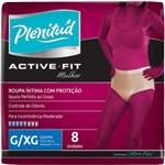 Ficha técnica e caractérísticas do produto Fralda Geriátrica Plenitud Active Feminina G/xg