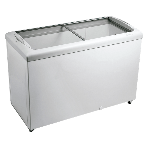 Ficha técnica e caractérísticas do produto Freezer Horizontal Metalfrio, 389 Litros, Portas em Vidro, Branco - HF40S - 220V