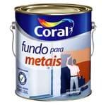 Ficha técnica e caractérísticas do produto Fundo para Ferro Zarcoral 3,6L Coral