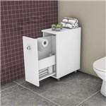 Ficha técnica e caractérísticas do produto Gabinete para Banheiro 1 Porta de Correr BCM116 Movelbento Branco