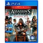 Ficha técnica e caractérísticas do produto Game - Assassins Creed: Syndicate - Ps4