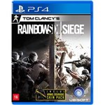 Ficha técnica e caractérísticas do produto Game - Tom Clancys Rainbow Six: Siege - Ps4