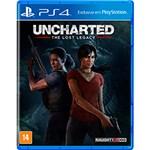 Ficha técnica e caractérísticas do produto Game Uncharted The Lost Legacy - PS4