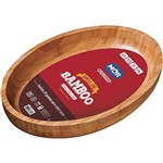 Ficha técnica e caractérísticas do produto Gamela Oval Bamboo 33x23cm 3362 Mor