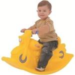 Ficha técnica e caractérísticas do produto Gangorra Infantil Moto Balanço Amarelo - Xalingo