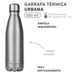 Garrafa Térmica Squeeze Inox 500 Ml - Soprano