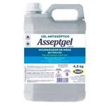 Gel Antisséptico Higienizador de Mãos 4,5kg Asseptgel