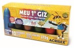 Ficha técnica e caractérísticas do produto Giz de Cera Meu 1 Giz 12 Cores 09512 Acrilex - 1