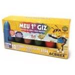 Ficha técnica e caractérísticas do produto Giz de Cera Meu 1 Giz 12 Cores 09512 Acrilex