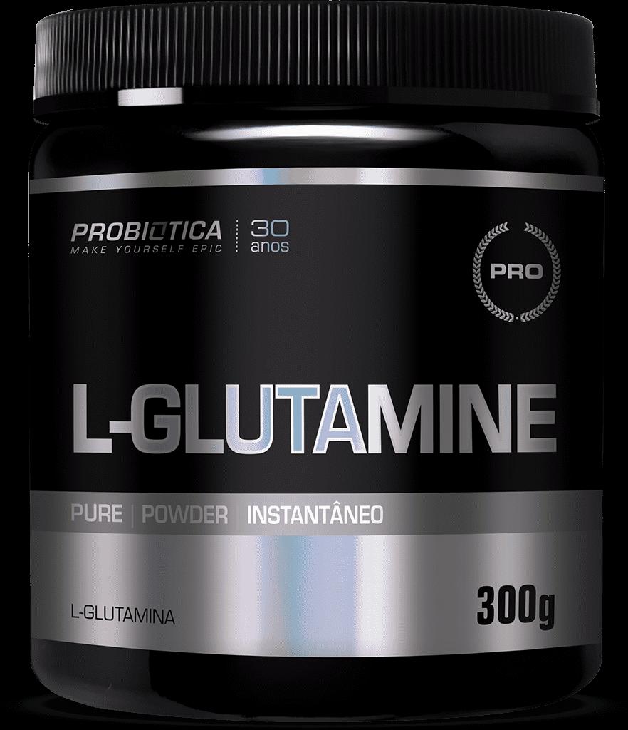 Ficha técnica e caractérísticas do produto Glutamina Pó S/ Sabor Probiótica (300g)
