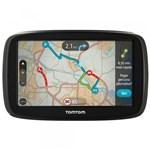 """Ficha técnica e caractérísticas do produto GPS Automotivo TomTom GO 60B com Mapa Mundo, Tela 6"""" com Alerta de Radar e Leitor de Cartão SD"""