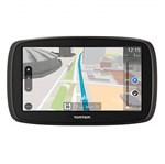 """Ficha técnica e caractérísticas do produto GPS Automotivo TomTom GO 60B com Mapa Mundo*, Tela 6"""" com Alerta de Radar e Leitor de Cartão SD"""