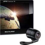 """GPS Multilaser TrackerTV Tela 7.0"""" - TV Digital, Câmera de Ré e Função TTS (fala o Nome das Ruas)"""