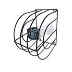 Grade de Proteção CFTV Gaiola P/ Câmeras de Segurança - Preta