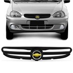 Grade Dianteira Corsa Classic 2003 2004 2005 2006 2007 2008 Preta com Emblema