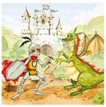 Ficha técnica e caractérísticas do produto Guardanapo Decoupage Príncipe e Dragão 2 Unidades GCD211378 - Toke e Crie
