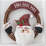 Guirlanda Papai Noel HoHoHo 35cm - Orb Christmas