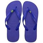 Ficha técnica e caractérísticas do produto Havaianas Brasil 7000032 - Azul - Tamanho 37/38 - Azul