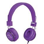 Ficha técnica e caractérísticas do produto Headphone Head Fun com Microfone P2 3,5mm Hi-fi Roxo - Multi