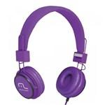 Ficha técnica e caractérísticas do produto Headphone Head Fun com Microfone P2 3,5mm Hi-Fi Roxo - Multilaser - PH