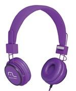 Ficha técnica e caractérísticas do produto Headphone Head Fun com Microfone P2 3,5mm Hi-Fi Roxo - Multilaser - PH090