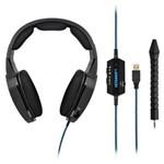 Ficha técnica e caractérísticas do produto Headset Gamer Warrior Multilaser Azul Ph179
