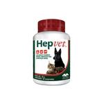 Ficha técnica e caractérísticas do produto HepVet 30 Comprimidos Vetnil Suplemento Cães e Gatos
