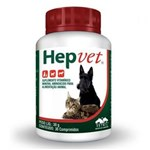 Ficha técnica e caractérísticas do produto Hepvet 30 Comprimidos