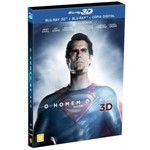 Ficha técnica e caractérísticas do produto Homem de Aço, o - Blu-Ray 3D + Bluray