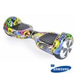 Ficha técnica e caractérísticas do produto Hoverboard 6,5 Urban Mymax Bluetooth Led Frontal com Mochila Bateria Samsung