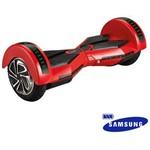 Hoverboard Scooter Balance 8'' Bateria Samsung Vermelho.